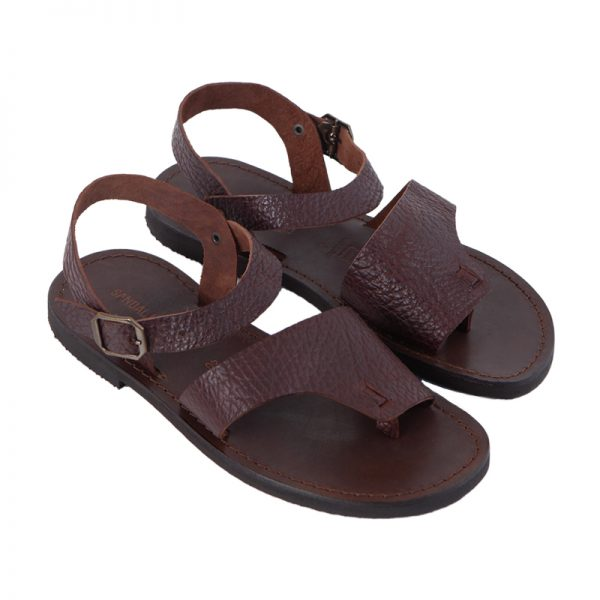 Men's Ategola Strappy sandals in Brown Sandalishop.it