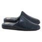 pantofole blu di lusso per uomo