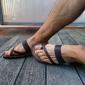 sandali uomo cuoio leggeri e comodi