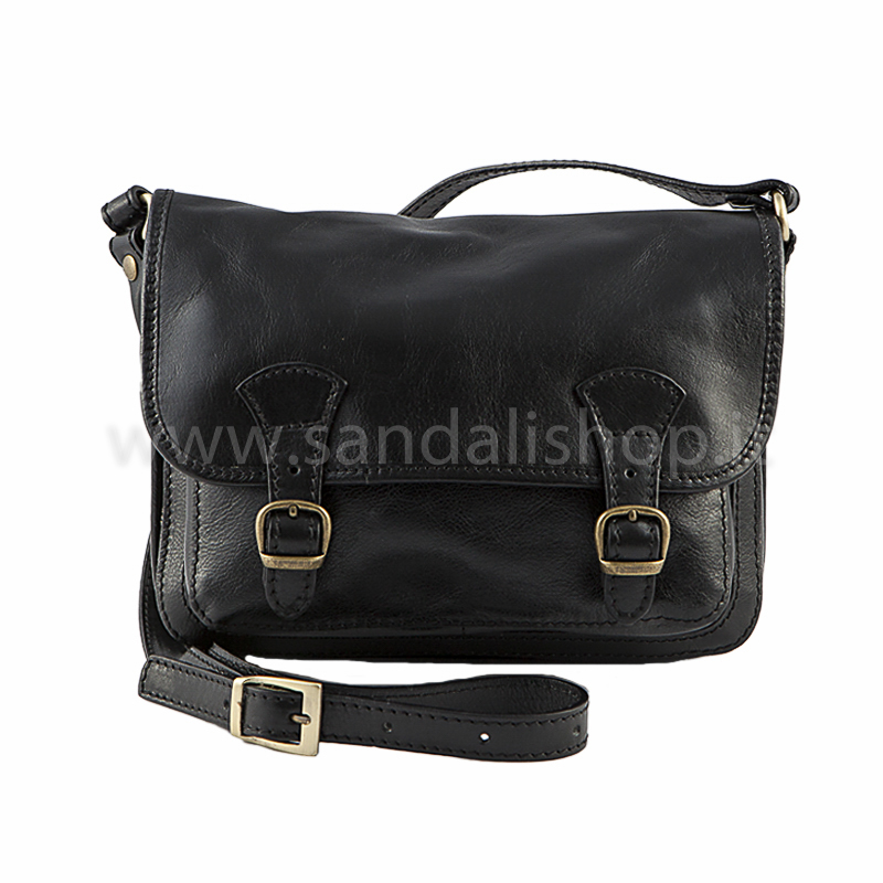 fb7f068bf7 Borsa artigianale tracolla Bandoliera da donna marrone - Sandalishop.it