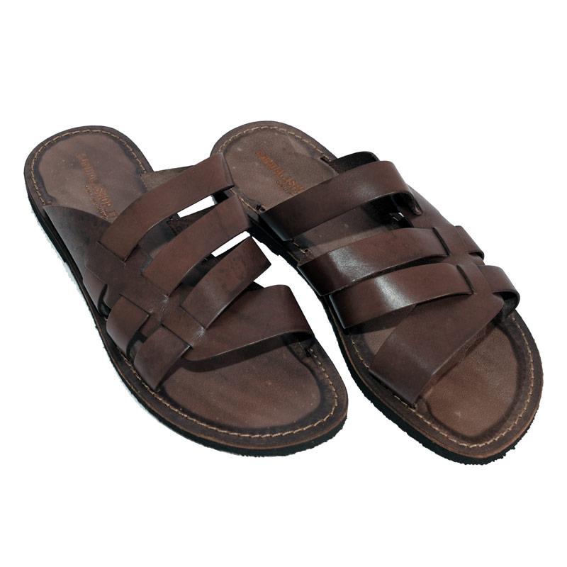 Sandalo ciabatta Cool marrone da uomo