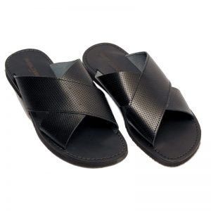 Sandalo ciabatta X nero da uomo