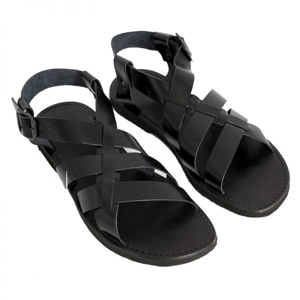 Men's Outdoor Gladiator sandals in Black