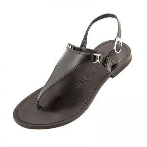 Sandalo chiuso dietro Bikini nero da donna