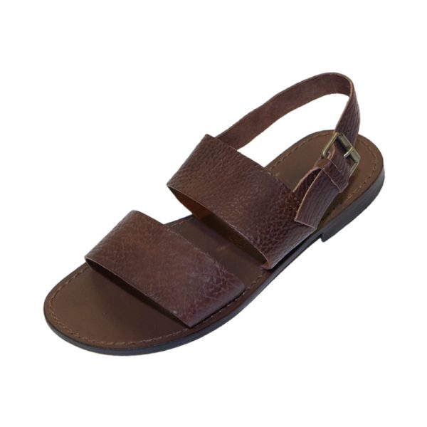 Sandalo chiuso dietro Classe marrone da uomo