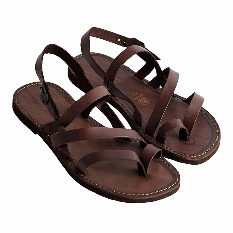 Men's Indiano Strappy sandals in Brown