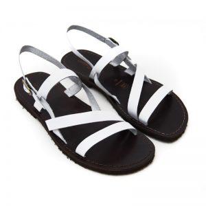 Sandalo chiuso dietro Pajaru bianco da uomo