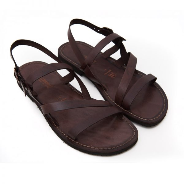 Sandalo chiuso dietro Pajaru marrone da uomo