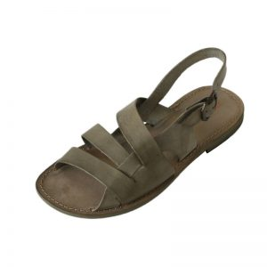 Sandalo chiuso dietro Spartacus verde mimetico da uomo