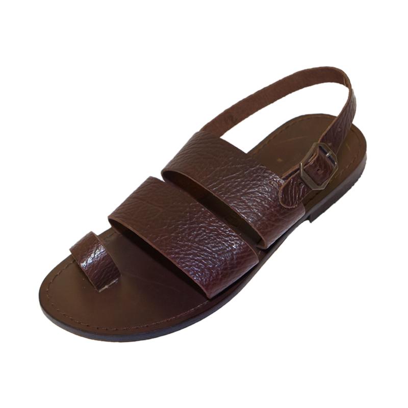Sandalo chiuso dietro Super marrone da uomo