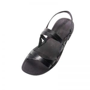 Sandalo chiuso dietro Ulisse nero da uomo