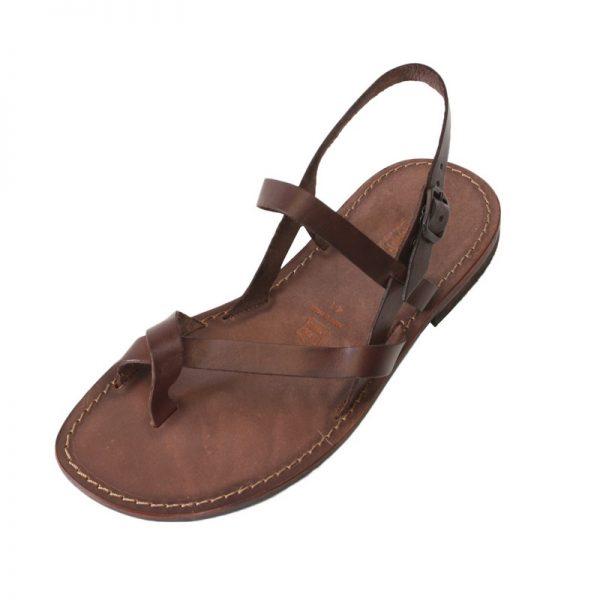 Sandalo chiuso dietro Wanted marrone da uomo