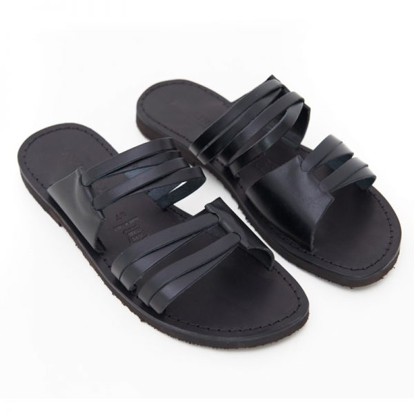 Women's Gallipoli Slide sandals in Black