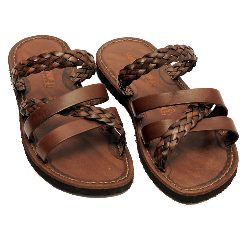 Women's Otranto Slide sandals in Brown