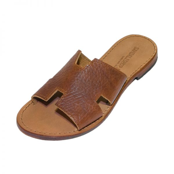Women's Yoga Slide sandals in Cognac