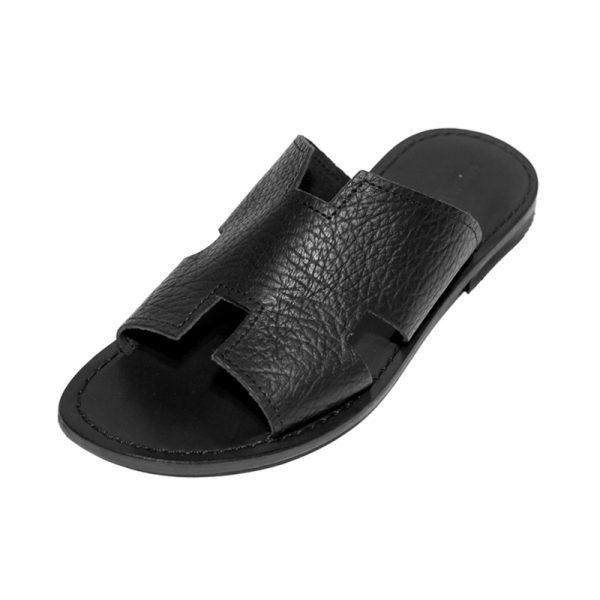 Sandalo ciabatta Fricchettone nero da uomo
