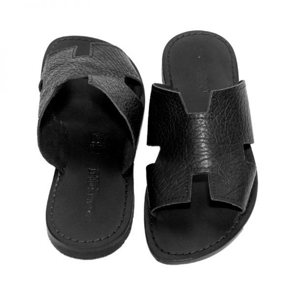 sandali-cuoio-ciabatta-uomo-fricchettone-nero-2