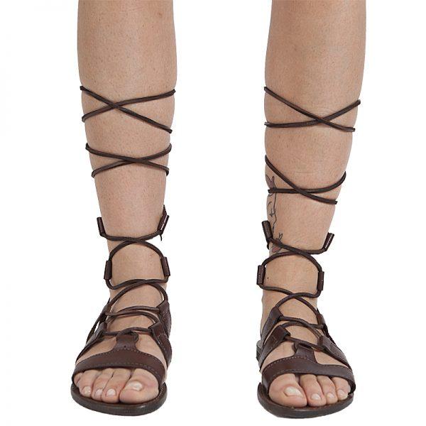 sandali-cuoio-gladiatore-donna-Ave-marrone-2