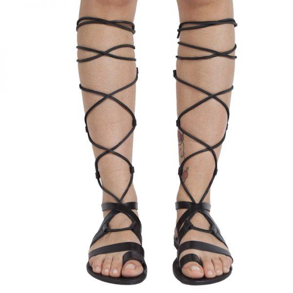 sandali-cuoio-gladiatore-donna-Ines-nero-3