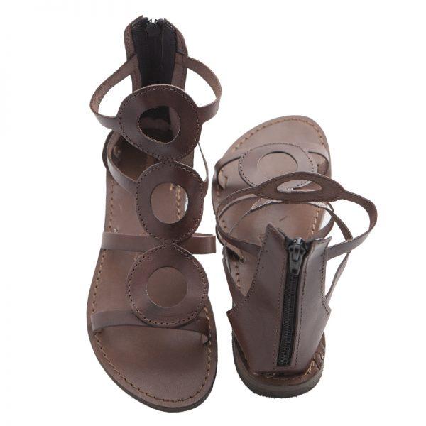 sandali-cuoio-gladiatore-donna-cecilia-marrone-2