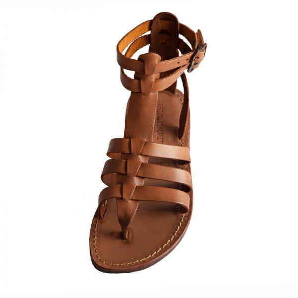 sandali-cuoio-gladiatore-donna-fashion-cognac-2