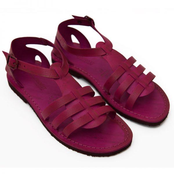 Sandalo gladiatore Leverano fuxia da donna