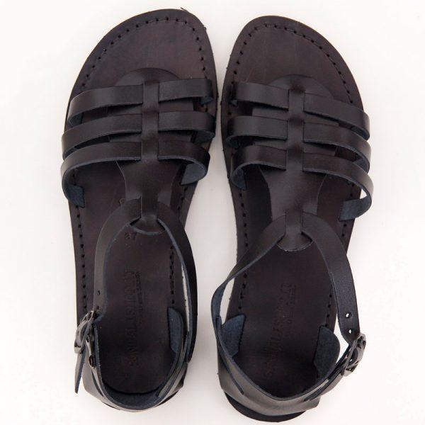 sandali-cuoio-gladiatore-donna-leverano-nero-2