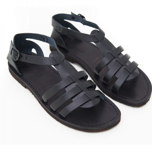 99d19816a16c ... Women s Leverano Gladiator sandals in Black. Sandalo gladiatore  Leverano nero da donna