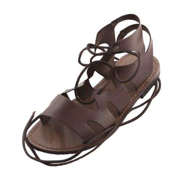 Sandalo gladiatore Lapo marrone da uomo