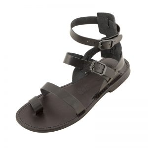 Sandalo gladiatore Rostov nero da uomo