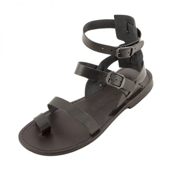 Men's Rostov Gladiator sandals in Black