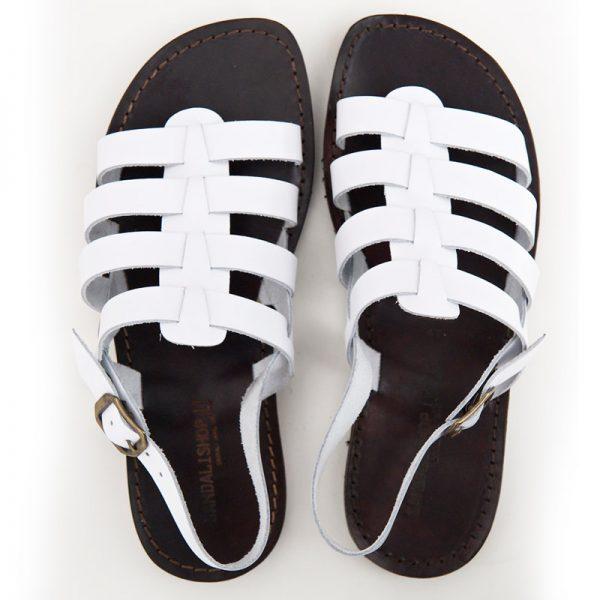 sandali-cuoio-gladiatore-uomo-ciak-bianco-2