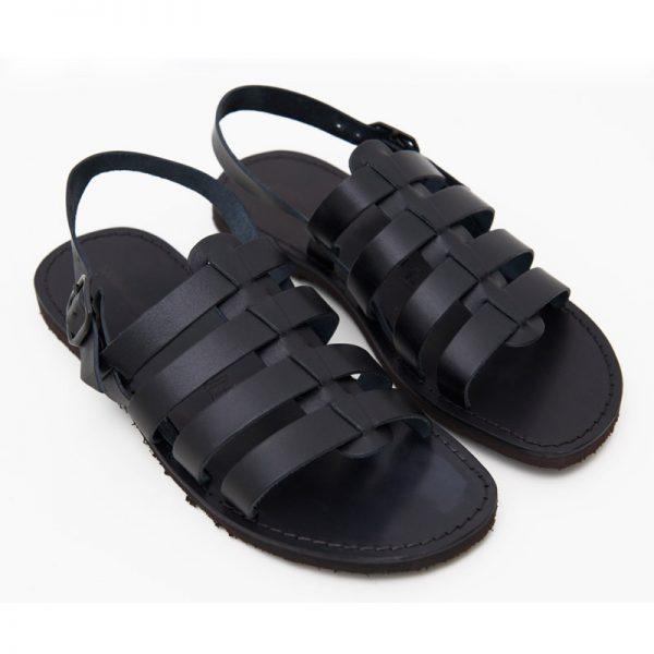 Sandalo gladiatore Ciak nero da uomo