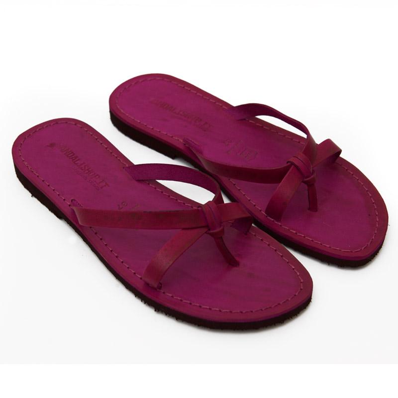 Sandalo infradito Brindisi fuxia da donna