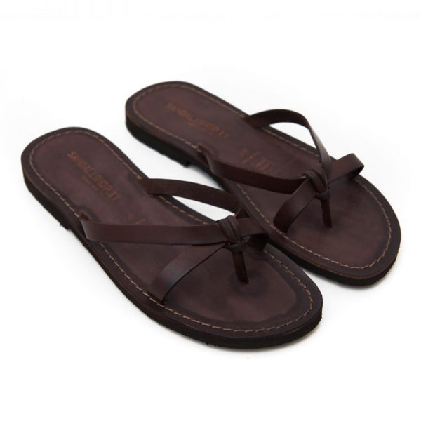 Women's Brindisi Thong sandals in Brown