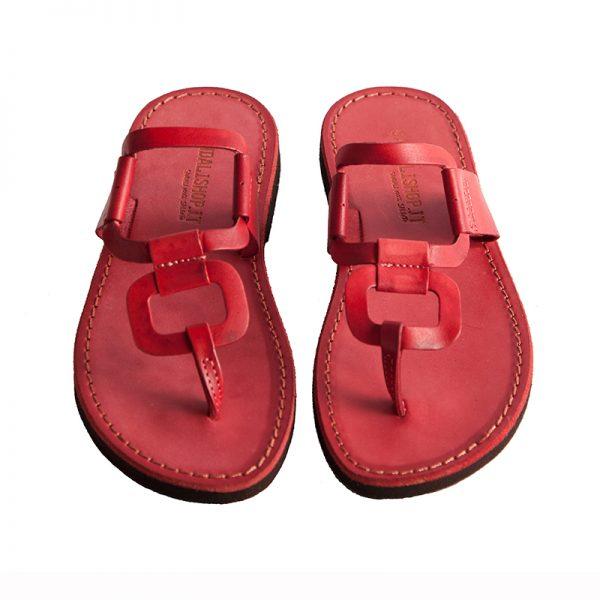 sandali-cuoio-infradito-donna-egizio-rosso-2