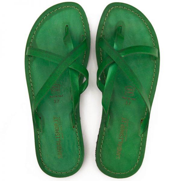 sandali-cuoio-infradito-donna-taranto-verde-2