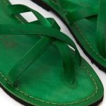 cfe862cebee5 Women s Taranto Thong sandals in Green - Sandalishop.it