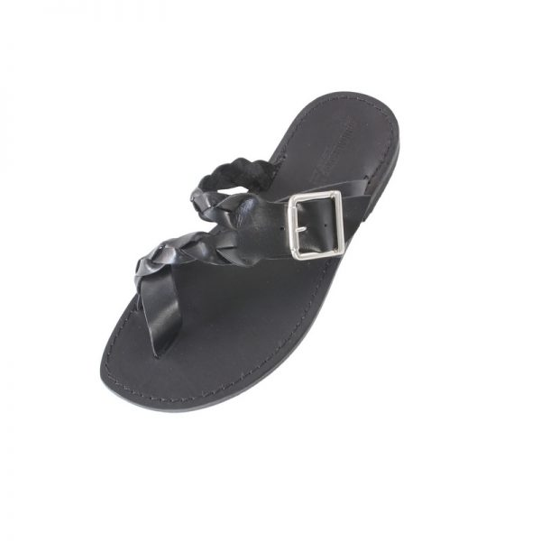 Men's Glamour Thong sandals in Black