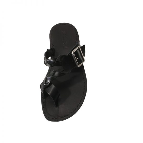sandali-cuoio-infradito-uomo-glamour-nero-2