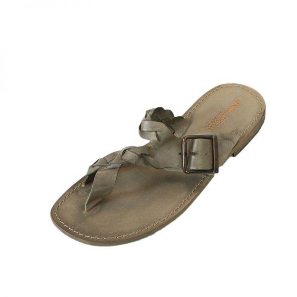 dbea379652da ... Thong sandals in Camouflage Green. Sandalo infradito Glamour verde  mimetico da uomo