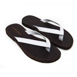 Sandalo infradito Maldive bianco da uomo