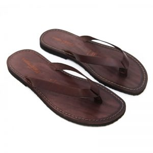 Sandalo infradito Maldive marrone da uomo