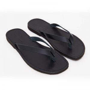 Sandalo infradito Maldive nero da uomo
