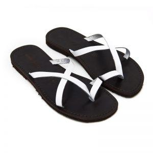 Sandalo infradito Taranta bianco da uomo