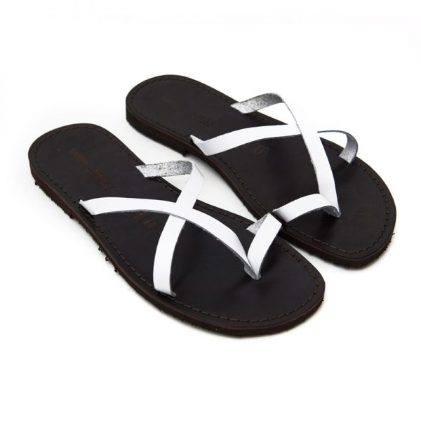 Men's Taranta Thong sandals in White