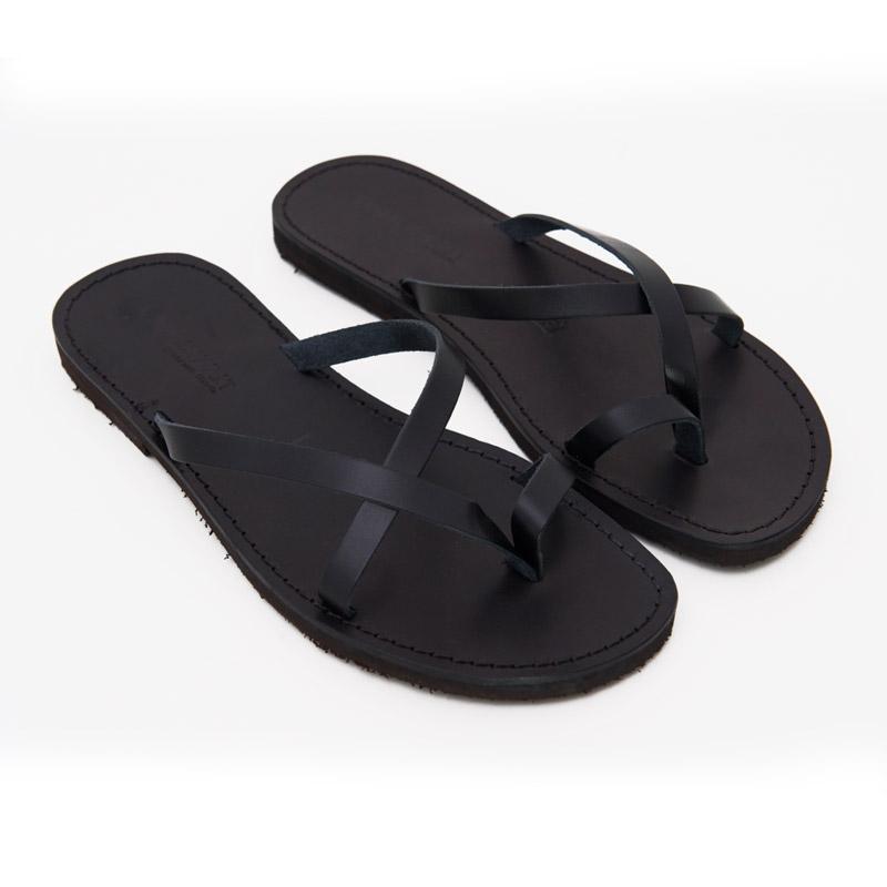 Sandalo infradito Taranta nero da uomo
