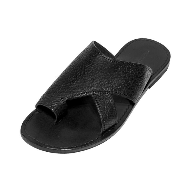 Sandalo infradito Unico nero da uomo