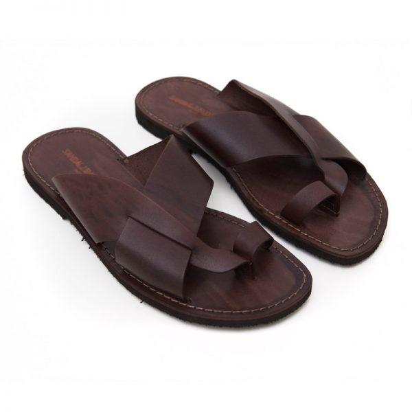 Men's Versosud Thong sandals in Brown