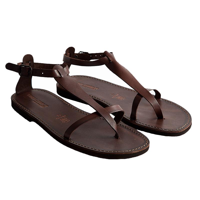 Sandalo schiava Culto marrone da uomo